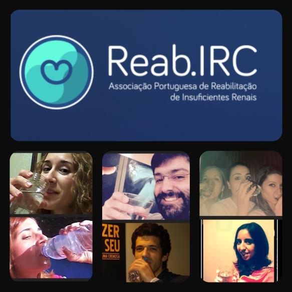 Reab.IRC beba água